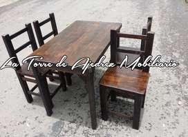 Mesas y sillas para negocio nuevas