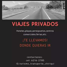 Transporte Privado (David—Boquete—Bocas')