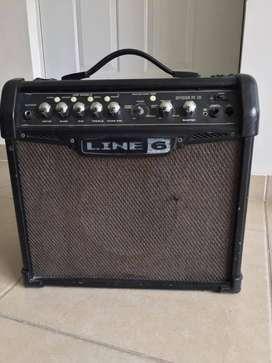 "Amplificador Guitarra Eléctrica Line 6 Spider Classic 15, 15 Watts, 1X8"""