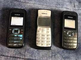 Nokia 1110 / 1118 modelos retro $ x unidad