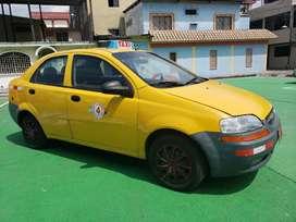 Vendo Taxi Amarillo 2010 Sistema a Gas