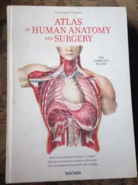 ATLAS OF HUMAN ANATOMY AND SURGERY de TASCHEN