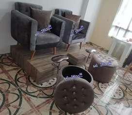 Muebles para spa, peluquería y barberia