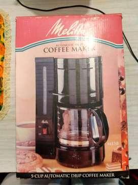Se vende linda cafetera Melitta (AUTIMATIC DRIP COFFEE MEKER)