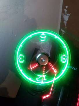 Vendo  dispositivo USB reloj LED full cambio x maleta