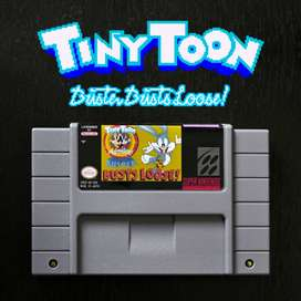 Juego TINY TOON - BUSTER BUSTS LOOSE para Super Nintendo SNES