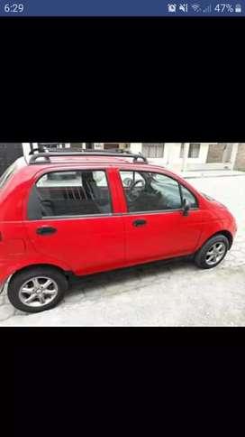 Se vende vehículo Daewoo matiz 2001.