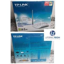 Modem router Wireless ADSL. NUEVO