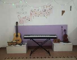 Clases de Piano, Guitarra, Canto, Violín y Ukelele