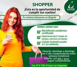 Shopper o comprador.