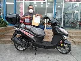Moto automática OROMOTO.  Importadora CHIMASA. Vendedor Monica