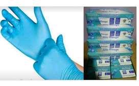 Guantess nitrilo alto riesgo
