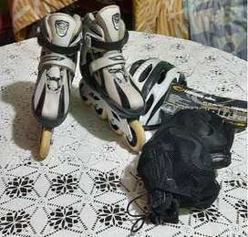 Patines Linea Semiprofesionales Canariam Speed Fighter