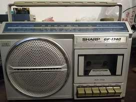 Radio grabador SHARP GF -1740