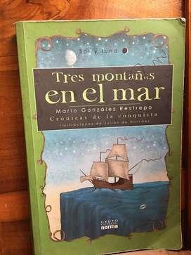Tres montañas en el mar (libro)