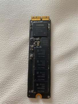 Disco duro estado solido SSD MACBOOK 2013 de 256gb Pcle SSD