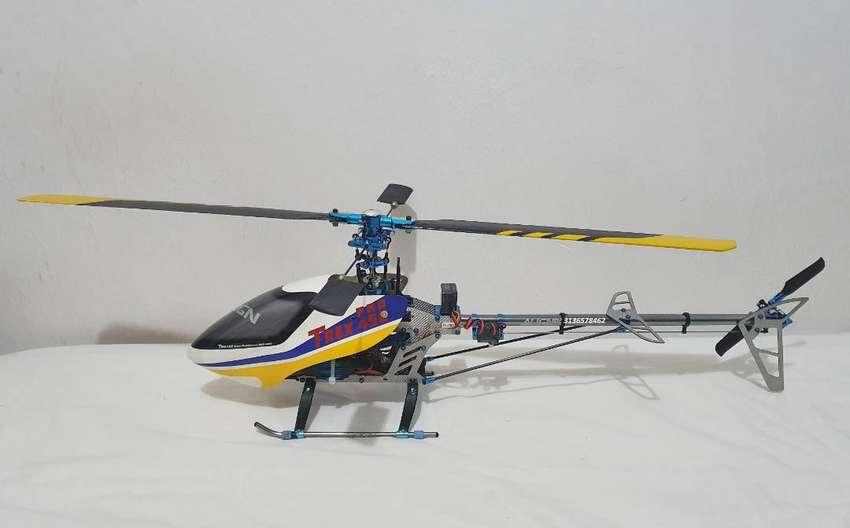 Helicóptero Align T-rex 450 eléctrico + batería 0
