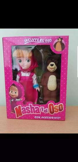 Muñecas Masha y el Oso
