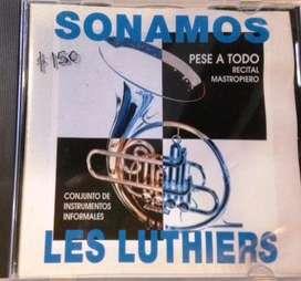 Cd Les Luthiers Sonamos Pese A Todo Recital Mastropiero