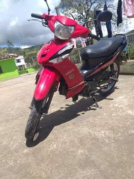 Yamaha Crypton T115, modelo 2012