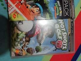 PSP Dual Pack Hot Shots Golf y Hot shots Tennis