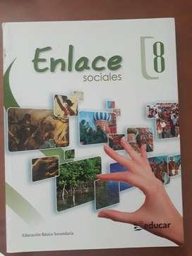Libro Enlace 8  Ed. Educar