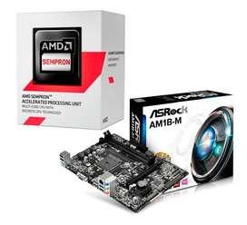 COMBO ACTUALIZACION AMD  MOTHER Y MICRO X2. USB3.0. NUEVO!!