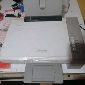 impresora scanner Lex Mark