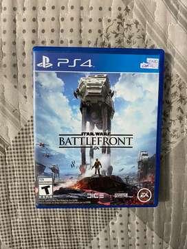 Cambio o vendo Star Wars Battlefront PS4