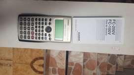 Calculadora casio finaciera fc100v