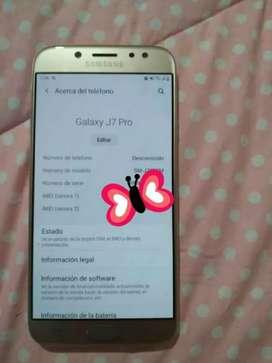Vendo celular en buen estado 10/10 J7 pro   no tiene detalles