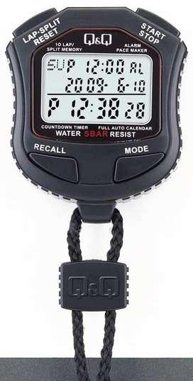 Cronometro Q&q Hs-45,10 Tiempos,pacemaker,reloj,timer ,wr50m
