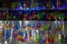 Decoraciones cumpleaños piñateria aviso