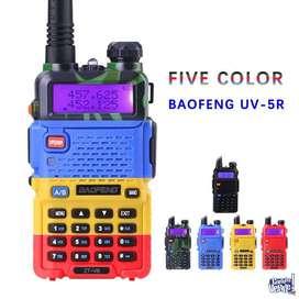 IMPERDIBLE Handy OKM Handies Baofeng Uv5r Bi Banda Uhf Vhf Radio Doble Banda Completo