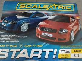 SCALEXTRIC pista eléctrica de autos importada