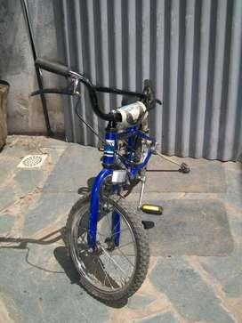Bicicleta Azul para Niños Vitanova Rodado 14