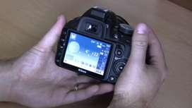 Camara Nikon D3100 lente 18/55 y lente 55/300 incluidos