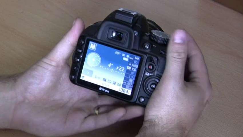 Camara Nikon D3100 lente 18/55 y lente 55/200 incluidos 0