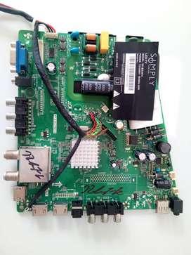 Main Board Y Fuente Dos En Una Tv Simply Modelo: Syled39t2