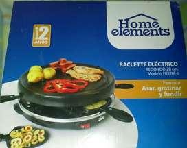 Raclette Eléctrico