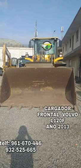 CARGADOR FRONTAL VOLVO L120F 2013