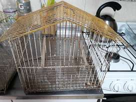 Vendo Dos Jaulas de Canarios Usadas