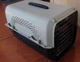 Kennel jaula transporte pequeño para gato o perro mini