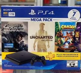 Play  station 4 mega pack 7 juegos