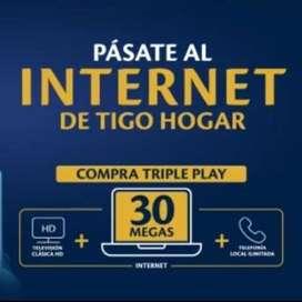 Internet, Televisión y Telefonía