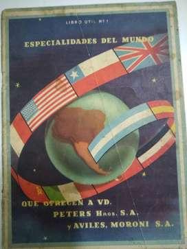 libro 1  especialidades del mundo de Peters Hnos