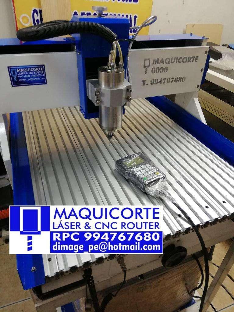 CORTADOR GRABADOR CNC ROUTER MODELO 6090 1.5KW 0