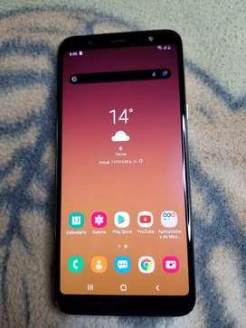 Vendo o Cambio Samsung Galaxy A6 Plus Dorado Estado 9.8 de 10 Detalle En Imei Hay que Cambiarlo