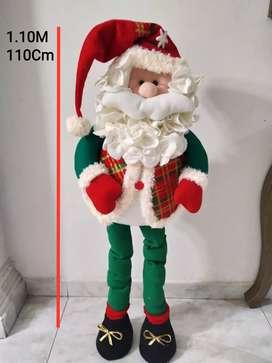 Muñeco de navidad Patas largas 110 Cm 1 Metro
