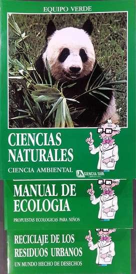 CIENCIAS NATURALES, Ecologia y Reciclaje